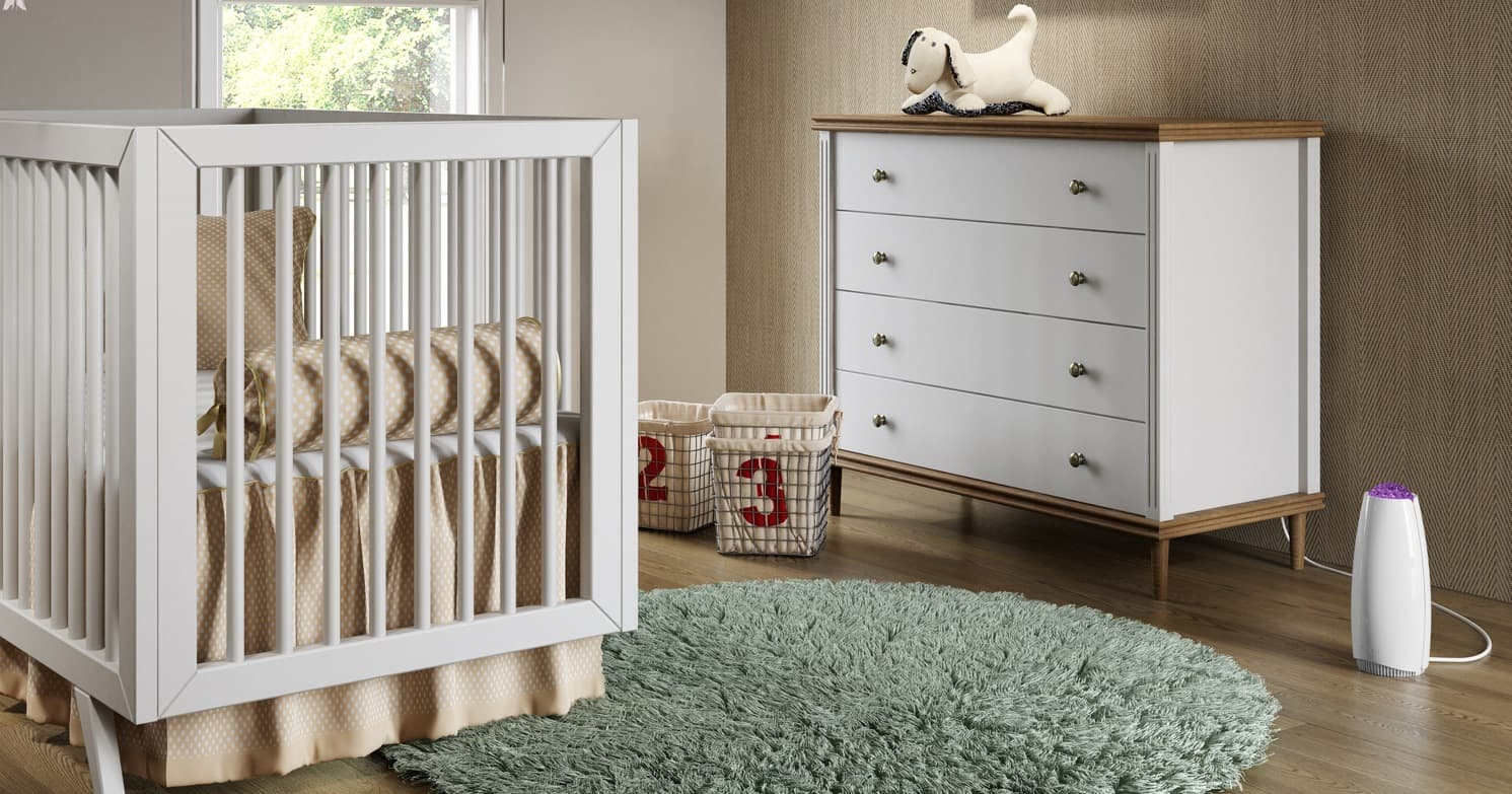 airfree tulip para quarto do bebe